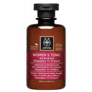 Apivita Women's Tonic Σαμπουάν κατά της Γυναικείας Τριχόπτωσης με Hippophae TC & Δάφνη 250ml