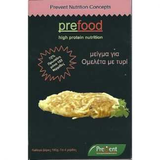 Prevent Prefood Μείγμα για Ομελέτα με με Τυρί 4 μερίδες ανα συσκευασία