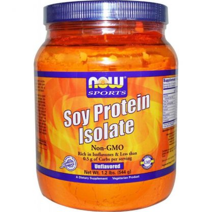Now Foods Soy Protein Isolate Non-Gmo 544gr