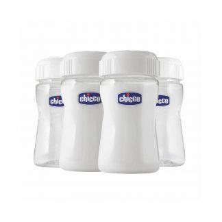 Chicco Μπουκάλια Διατήρησης Μητρικού Γάλακτος Sure Safe 0%BPA 4τμχ 00084-30-10