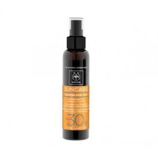 Apivita Suncare Tanning Body Oil Spf30 με Καρότο & Ηλίανθο 150ml