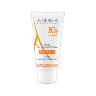 A-Derma Protect Fluide très haute protection SPF50+ 40ml