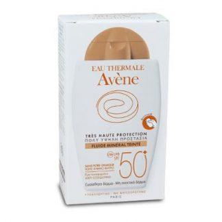 Avene Sun Fluide Mineral Teinte SPF50 40ml