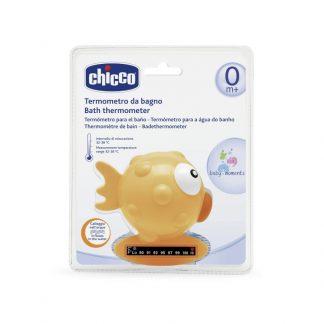 Chicco Θερμόμετρο Μπάνιου Ψάρι Πορτοκαλί 06564-00