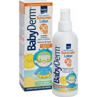 Babyderm Sunscreen Lotion Face & Body SPF50 200ml