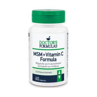 Doctor's Formulas MSM & Vitamin C 60caps