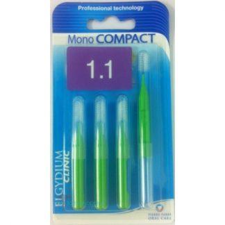 Elgydium Mono Compact Green (1.1) 4τμχ
