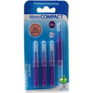 Elgydium Mono Compact Purple (0.8) 4τμχ