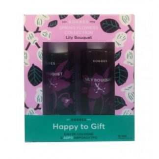 Korres Happy to Gift Lily Bouquet Eau de Cologne 100ml & ΔΩΡΟ Αφρόλουτρο Lily Bouquet 250ml