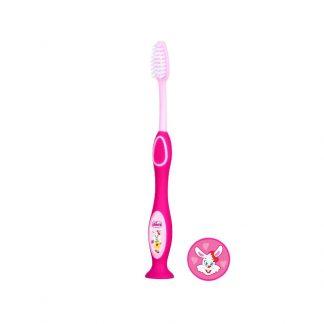 Chicco Παιδική Οδοντόβουρτσα Ροζ 3-6 ετών