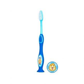 Chicco Παιδική Οδοντόβουρτσα Μπλε 3-6 ετών
