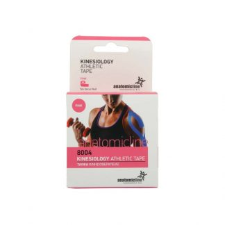 Anatomic Line Kinesiology Athletic Tape 5cm X 5m Ροζ