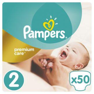 Pampers Premium Care Πάνες Μέγεθος 2 (Mini) 3-6 kg 50 Πάνες