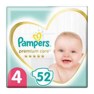 Pampers Premium Care Πάνες Μέγεθος 4 (Maxi) 8-14kg 52 Πάνες