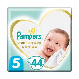 Pampers Premium Care Πάνες Μέγεθος 5 (Junior) 11-18kg 44 Πάνες