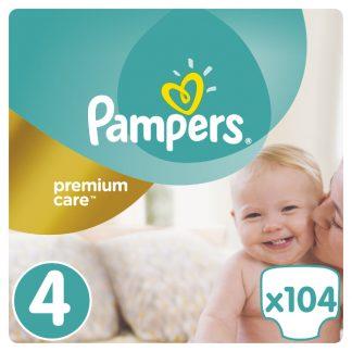 Pampers Premium Care Πάνες Μέγεθος 4 (Maxi) 8-14kg 104 Πάνες