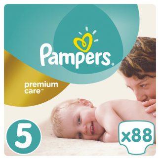Pampers Premium Care Πάνες Μέγεθος 5 (Junior) 11-18kg 88 Πάνες