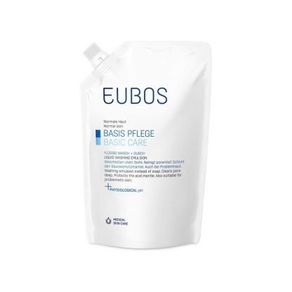 Eubos Blue Liquid Refill Ανταλλακτικό Υγρό Καθαρισμού 400ml