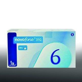 Novofine Bελόνες 31G 6mm 100τμχ