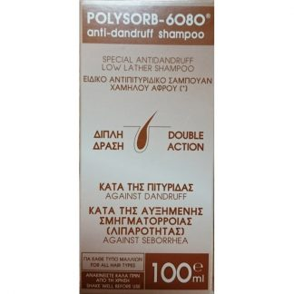 Polysorb 6080 Antidandruff Shampoo 100ml