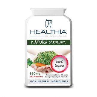 Healthia Natura Premium 550mg 100caps