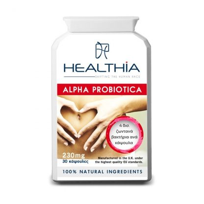 Healthia Alpha Probiotica 230mg 30caps