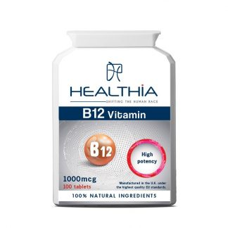 Healthia Vitamin B12 1000mcg 100tabs