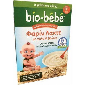 Bio-Bebe Φαρίν Λακτέ με Γάλα & Βρώμη 200gr