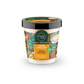 Natura Siberica Body Desserts Caramel Cappuccino Συσφικτική κρέμα σώματος Καραμέλα Καπουτσίνο 450ml