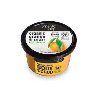 Natura Siberica Body scrub Sicilian Orange Scrub σώματος Πορτοκάλι 250ml