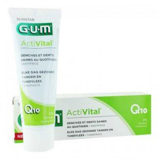 GUM 6050 Activital Q10 Toothpaste 75ml