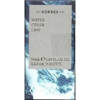 Korres Eau de Toilette Water Cedar & Lime 50ml