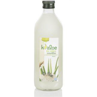Kaloe Gel Φυσικός Χυμός Βιολογικής Αλόης με Στέβια με γεύση Μαστίχα Χίου 1lt
