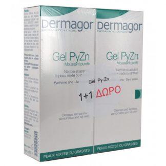 Dermagor Gel Py-Zn 2x200ml