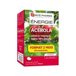 Forte Pharma Energy Acerola 60 μασώμενες ταμπλέτες