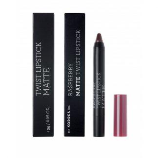 Korres Raspberry Matte Twist Lipstick Daring Plum 1,5gr