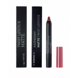 Korres Raspberry Matte Twist Lipstick Addictive Berry 1,5gr