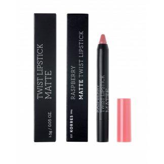 Korres Raspberry Matte Twist Lipstick Dusty Pink 1,5gr