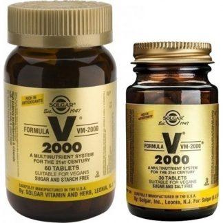 Solgar VM 2000 60tabs & Δώρο Solgar VM 2000 30tabs