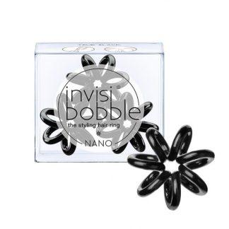 Invisibobble Nano True Black 3τμχ