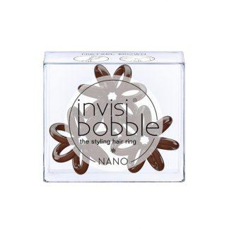 Invisibobble Nano Pretzel Brown 3τμχ