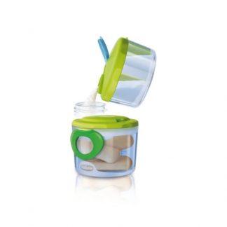 Chicco Δοσομετρητής Γάλακτος 2 σε 1 με αποσπόμενο διαχωριστικό για το γάλα & 300ml δοχείο 2τμχ