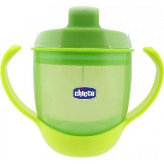 Chicco Κύπελλο Φαγητού Πράσινο 12m+ (06824-50)