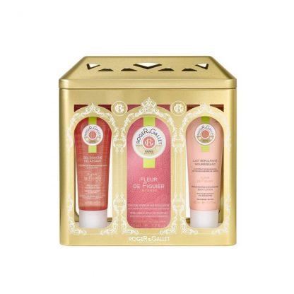 Roger & Gallet Set Fleur De Figuer Eau de Parfum 50ml & Δώρο Shower Gel 50ml & Lait Nourrisant 50ml