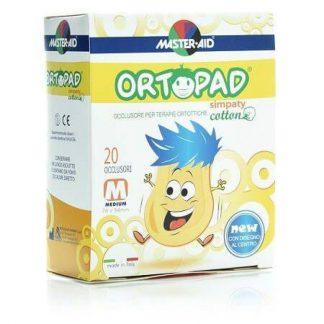 Ortopad Simpaty Παιδικά Οφθαλμικά αυτοκόλλητα Επιθέματα Medium 76x54mm 20τμχ