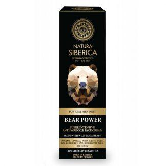 Natura Siberica Εντατική Αντιρυτιδική κρέμα προσώπου Bear Power intensive 50ml