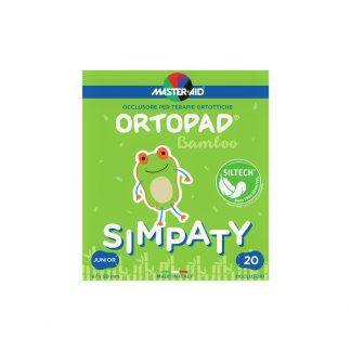 Ortopad Simpaty Junior Παιδικά Οφθαλμικά αυτοκόλλητα Επιθέματα 67x50mm 20τμχ