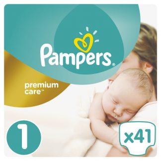 Pampers Premium Care Πάνες Μέγεθος 1 (Newborn) 2-5kg 41 Πάνες