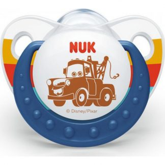 Nuk Trendline Disney Cars Σιλικόνης Mater 0-6m 1τμχ 10.730.001
