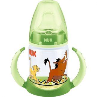 Nuk First Choice Μπιμπερό εκπαίδευσης Disney Lion King 6-18m σε πράσινο χρώμα,150ml 10.743.627